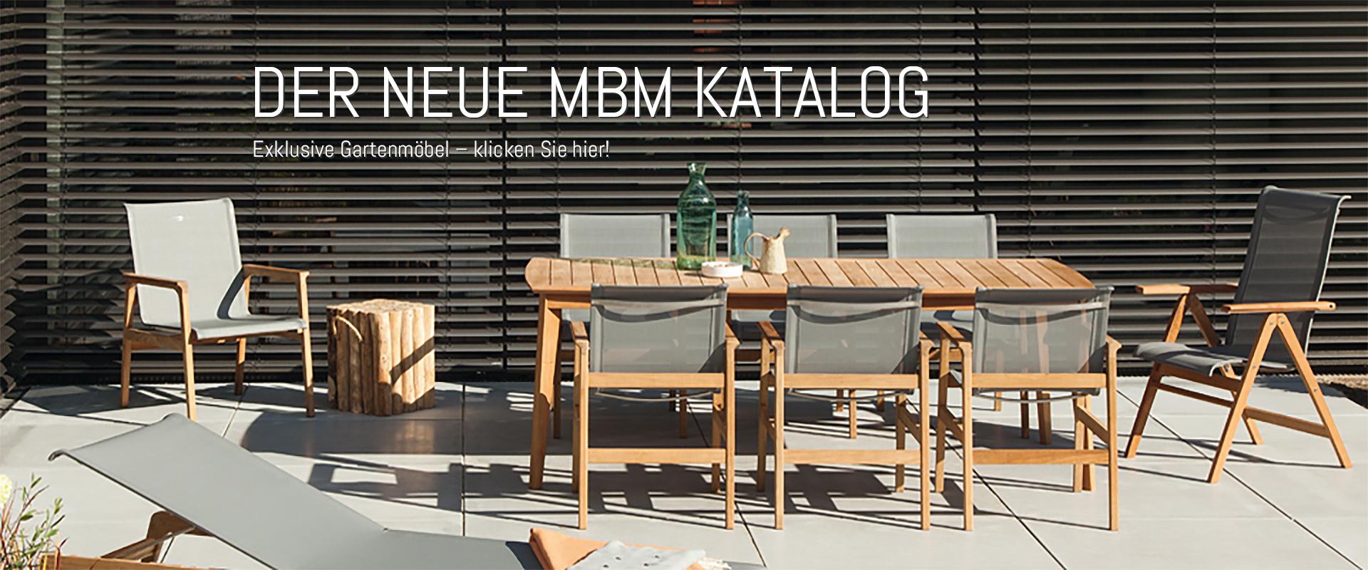 MBM | Hochwertige Gartenmöbel | Onlineshop | Münchner Boulevard Möbel