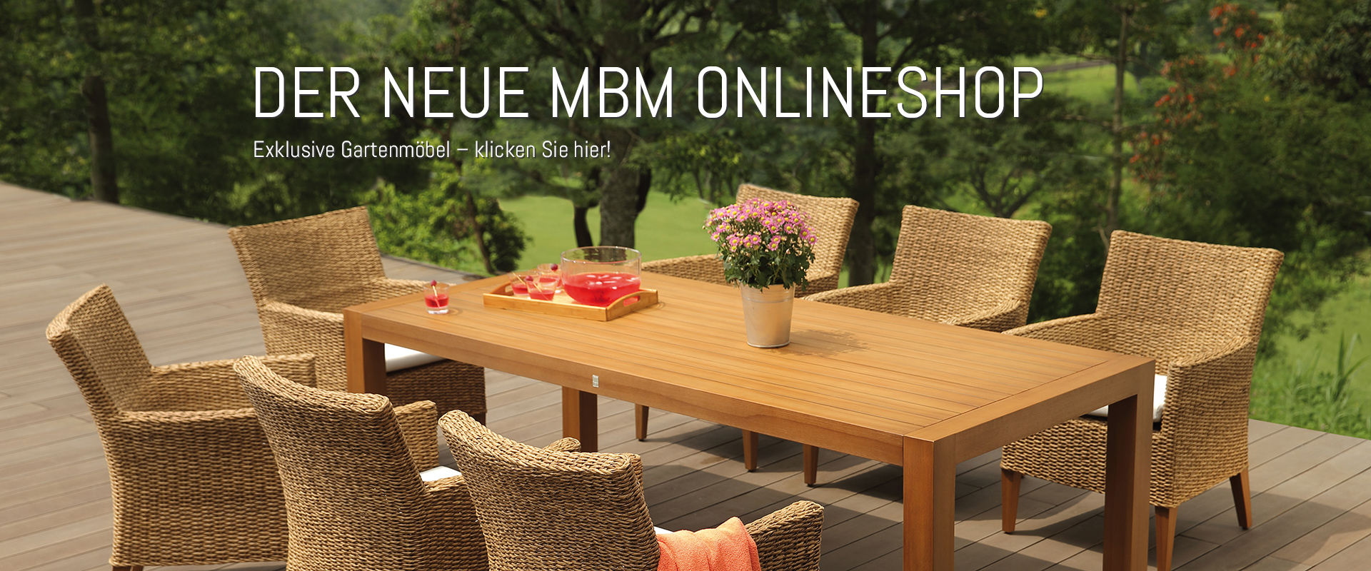 mbm hochwertige gartenm bel onlineshop m nchner. Black Bedroom Furniture Sets. Home Design Ideas