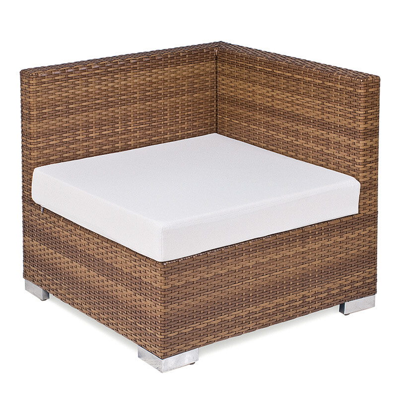 sitzkissen piccolino tobacco eckmodul mittelmodul outdoor sahara. Black Bedroom Furniture Sets. Home Design Ideas